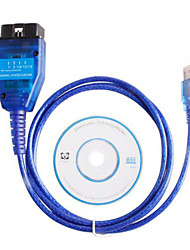cheap -VAG KKL USB for Fiat ECU Scan Diagnostic Comaptible Interface OBD2 Tool with Original FT232RL Chip
