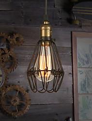 cheap -Pendant Light Ambient Light Painted Finishes Metal Mini Style 110-120V / 220-240V Warm White Bulb Included / E26 / E27