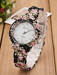 cheap -Women's Fashion Watch Quartz Flower Analog 1# 2# 3#