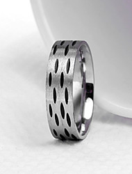 cheap -Men's Party/Casual Fashion Speckle Titanium Steel Rings