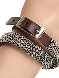 cheap -Party/Casual Leather Fashion Rock  Leather Bracelet