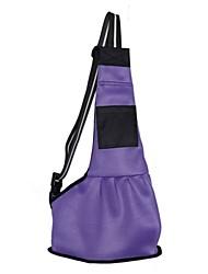 cheap -Cat Dog Carrier & Travel Backpack Shoulder Messenger Bag Pet Carrier Portable Foldable Solid Colored Red Blue Pink