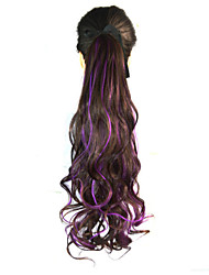 cheap -Micro Ring Hair Extensions Others curling Synthetic Hair Hair Piece Hair Extension Wavy 1.8 Meter Halloween / Party Evening