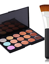 cheap -15 Colors Makeup Brushes Face Makeup Cosmetic Wet