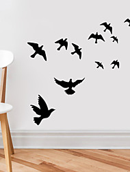cheap -Animals Wall Stickers Living Room, Pre-pasted Vinyl Home Decoration Wall Decal