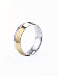 cheap -Men's Party/Casual Fashion Color Block Titanium Steel Rings