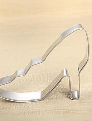 Недорогие -мода леди на высоких каблуках печенья для фруктов вырезать плесень из нержавеющей стали