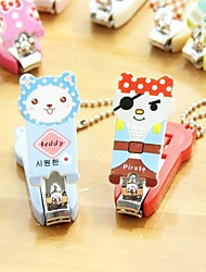 cheap -Lovely Animals Pattern Nail Clipper Random Color