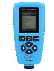 cheap -Bside CCT01 High Accuracy Magnetic Eddy Current Coating Thickness Gauge with English and Germany language Menu