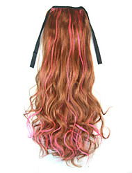 cheap -Micro Ring Hair Extensions Others Nanotechnology Synthetic Hair Hair Piece Hair Extension Wavy 1.8 Meter Halloween / Party Evening