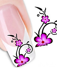 cheap -Water Transfer Printing Nail Stickers NO.1366