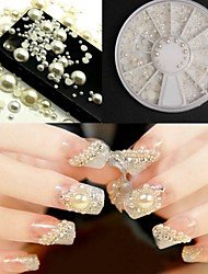 cheap -1 Pearls Nail Jewelry Abstract Classic Wedding Daily Abstract Classic Wedding High Quality