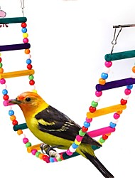 cheap -FUN OF PETS®Length 80cm Colorful Climbing Ladders with Beads  for Birds