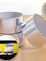 Недорогие -45мм рулон клейкой серебро алюминиевой фольги уплотнительная лента тепломагистрали (случайный цвет)