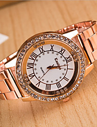 cheap -Women's Luxury Watches Wrist Watch Diamond Watch Quartz Analog Ladies Charm Fashion Bling Bling - Golden Rose Gold Silver One Year Battery Life / SSUO LR626
