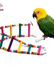 cheap -FUN OF PETS®70cm Colorful Climbing Ladders with Beads  for Birds