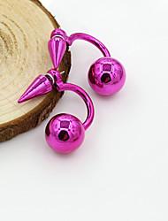 cheap -Women's Crystal Stud Earrings European Fashion 18K Gold Plated Pearl Imitation Pearl Earrings Jewelry Yellow / Blue / Pink For / Imitation Diamond / Rhinestone / Austria Crystal