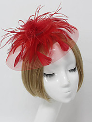 cheap -Women Fabric Hair Clip , Party Hat Headpiece