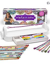 cheap -eruner diy loopdedoo spinning loom handmade rainbow headband bracelet necklace kids intelligence toys children gift