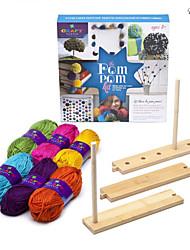 cheap -eruner birthday holiday gift listing craft tastic pom pom kit pom pom kit make pom poms handmade plush flower ball