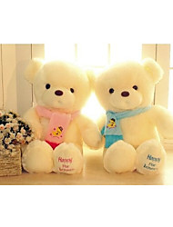 cheap -Genuine Hug Teddy Bear Plush Toys 30cm Children Ai Taidi Blue Scarf  Pink Scarf Bear Teddy Bear Gift Plush dolls