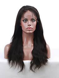 cheap -Human Hair Lace Front Wig style Indian Hair Straight Wig 130% Density with Baby Hair Natural Hairline African American Wig 100% Hand Tied Women's Short Medium Length Long Human Hair Lace Wig