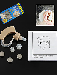 cheap -New Best Hearing Aids Aid Behind Ear Sound Amplifier Audiphone Adjustable Tone