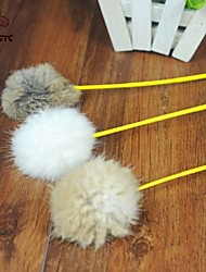 cheap -Teaser Feather Toy Cat Toy Stick Textile Gift Pet Toy Pet Play