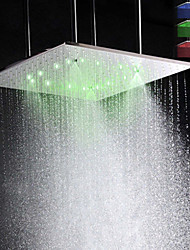 cheap -Contemporary Rain Shower Brushed Feature - LED / Rainfall, Shower Head