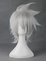 cheap -SoulEater Cosplay Cosplay Wigs Men's Women's 12 inch Heat Resistant Fiber Silver Anime