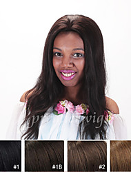 cheap -Human Hair 100% Hand Tied Full Lace Wig style Straight Wig 120% Density Natural Hairline African American Wig 100% Hand Tied Women's Short Medium Length Long Human Hair Lace Wig Premierwigs
