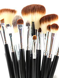 cheap -Professional Makeup Brushes Makeup Brush Set 15 Travel Eco-friendly Professional Full Coverage Synthetic Hypoallergenic Limits Bacteria Blending Synthetic Hair / Artificial Fibre Brush for Cream