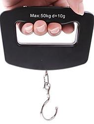 Недорогие -ЖК цифровой электронный портативный висит багаж весом 50 кг крючок шкала / 10г
