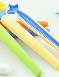 Недорогие -набор 5 морковь в форме хранения продуктов питания сумку герметик герметизации клип (случайный цвет)