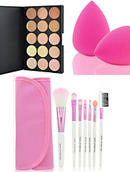 cheap -hot-sale-15-colors-contour-face-cream-makeup-concealer-palette-7pcs-pink-makeup-brushes-set-kit-powder-puff