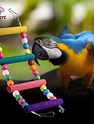 cheap -FUN OF PETS® Colorful Climbing Ladders with Beads  for Birds