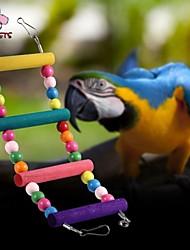 Недорогие -Пластик/Дерево - Лестницы и помосты - Для птиц - Переносной -