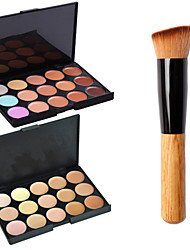 cheap -30 Colors Cream Makeup Brushes 1 pcs Face Classic Travel / Eco-friendly / Professional Daily Makeup Cosmetic