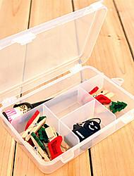 Недорогие -Коробки для хранения Пластик сОсобенность является С крышкой , Для Бижутерия
