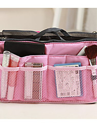 cheap -Travel Bag / Travel Organizer / Travel Luggage Organizer / Packing Organizer Large Capacity / Waterproof / Portable for Clothes Canvas / Nylon 28*15.5*9 cm Solid Colored Unisex