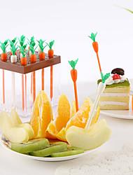 Недорогие -набор 9carrot форме фруктовых выборов кухня партия закуски торт десерт фрукты вилки