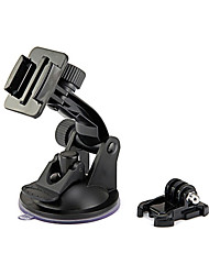cheap -gopro car accessories suction cup mount and quick release buckle for gopro camera hero 4 3 3 2 1