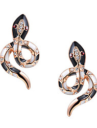cheap -Women's Stud Earrings Stylish Classic Earrings Jewelry Gold / Silver For Party Special Occasion Party / Evening 1 set