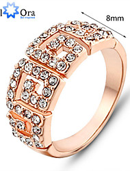 cheap -Women's Band Ring Gold Gold Plated Fashion Party Jewelry