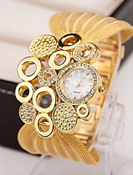 cheap -Women's Luxury Watches Necklace Watch Diamond Watch Quartz Multi-Colored 30 m Imitation Diamond Analog Ladies Charm Vintage Fashion Elegant - Silver Golden Brown / Gold