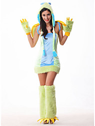 cheap -Halloween/Carnival Female Animal Costumes Costumes cosplay Skirt/Gloves/Headwear