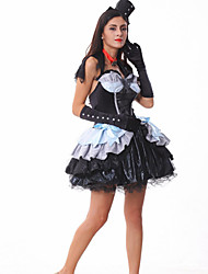 cheap -Vampire Halloween Witch Costume DS dance costume with the devil uniform temptation real puff princess skirt