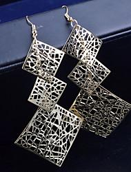cheap -Women's Drop Earrings Hanging Earrings Ladies Earrings Jewelry Silver / Golden For Wedding Party Daily Casual