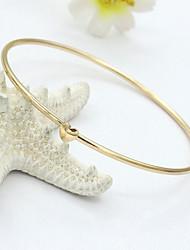 cheap -Crystal Bracelet Bangles Vintage Party Work Casual European 18K Gold Plated Bracelet Jewelry Gold For / Imitation Diamond / Rhinestone / Austria Crystal