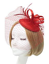 cheap -Women Fabric Hair Clip , Party Fashion Veils Headpiece
